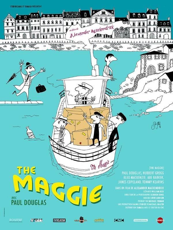 The Maggie, Affiche