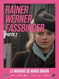 Le mariage de Maria Braun, affiche Rétrospective Rainer Werner Fassbinder, partie 2