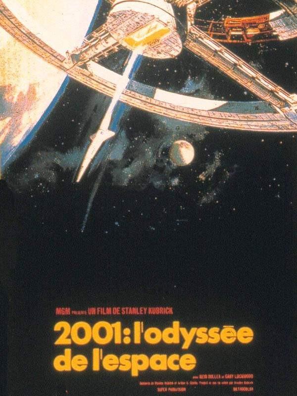 2001, l'odyssée de l'espace, affiche
