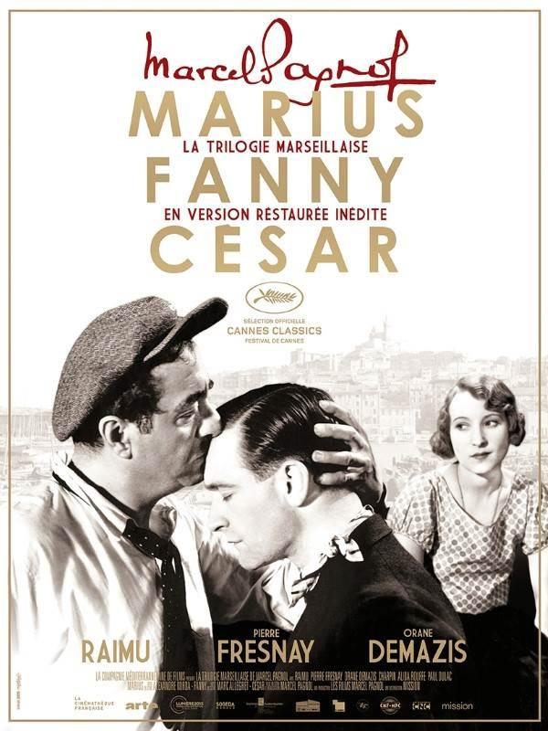La Trilogie Marseillaise de Marcel Pagnol, Affiche