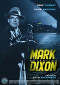 Affiche Mark Dixon, détective