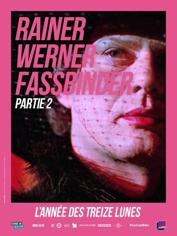 L''année des treize lunes, affiche Rétrospective Rainer Werner Fassbinder, partie 2