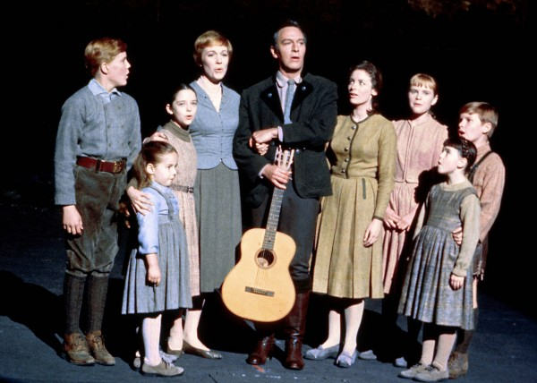 Julie Andrews, Christopher Plummer et les enfants