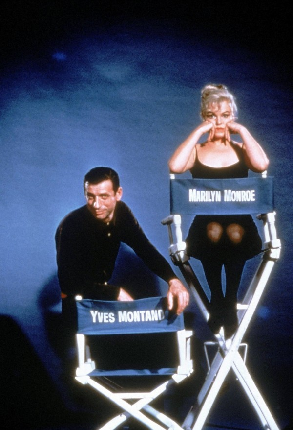 Yves Montand, Marilyn Monroe