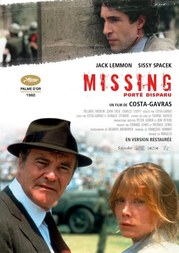 Missing, porté disparu, Affiche version restaurée