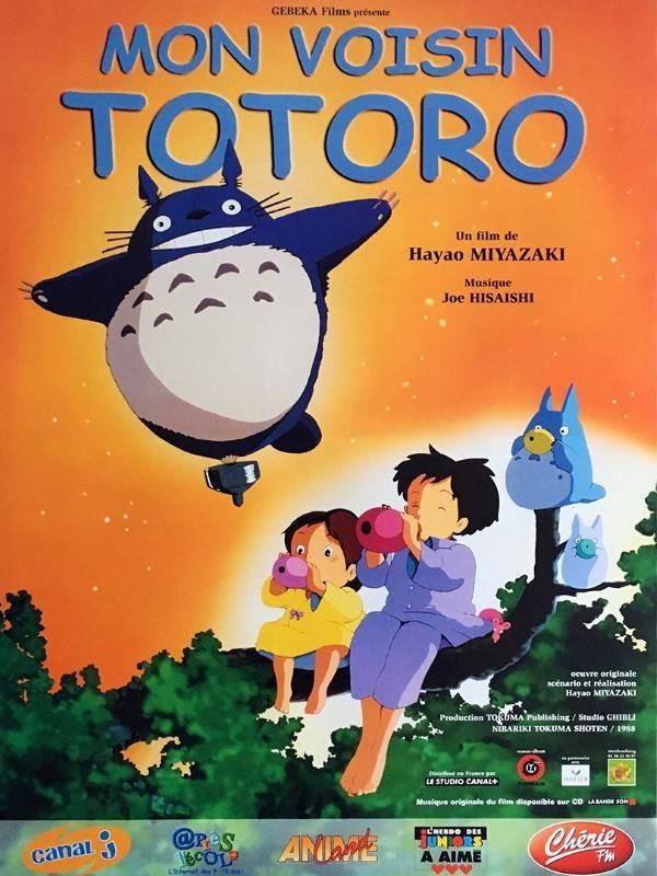 Mon voisin Totoro, Affiche