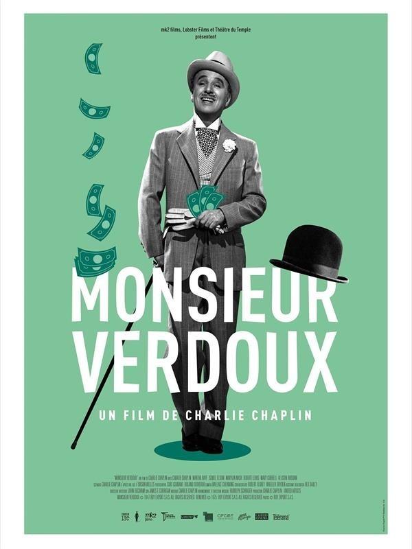 Monsieur Verdoux, affiche version restaurée