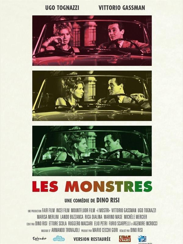Les Monstres, affiche version restaurée