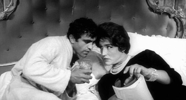 Vittorio Gassman (à droite)