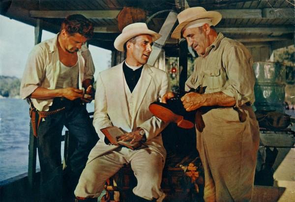 Georges Marchal (Shark), Michel Piccoli (le père Lizardi), Charles Vanel (Castin)