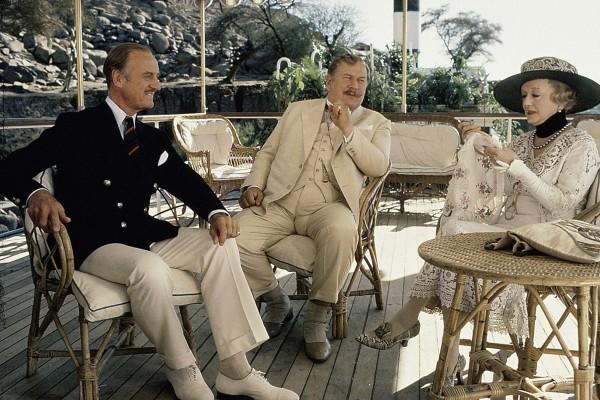 David Niven, Peter Ustinov, Bette Davis