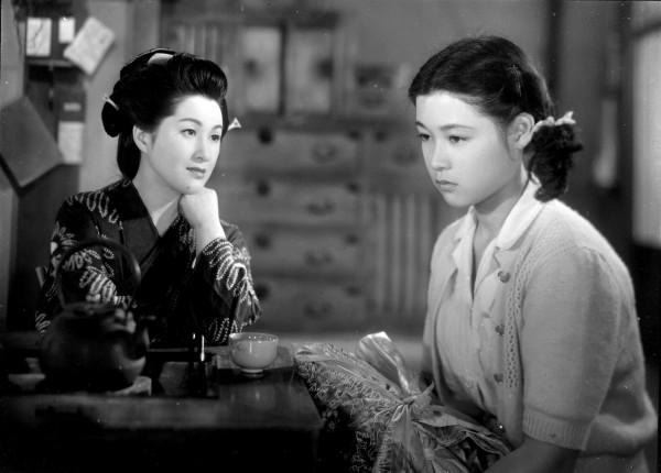 Michiyo Kogure (Miyoharu ), Ayako Wakao (Eiko)
