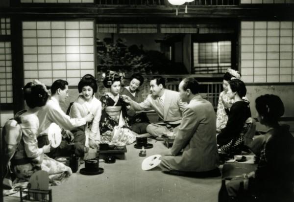 Les Musiciens de Gion, extrait