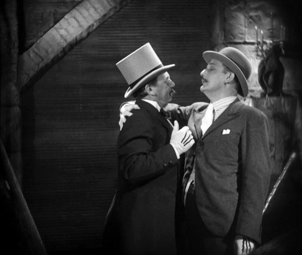 Reinhold Schünzel (Tiger Brown), Rudolf Foster (Mackie Messer)