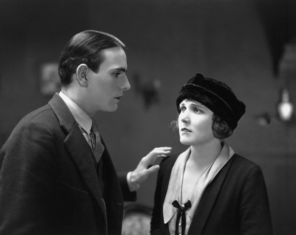 Carl Miller, Edna Purviance