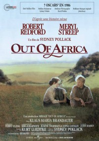 Out of Africa : Affiche