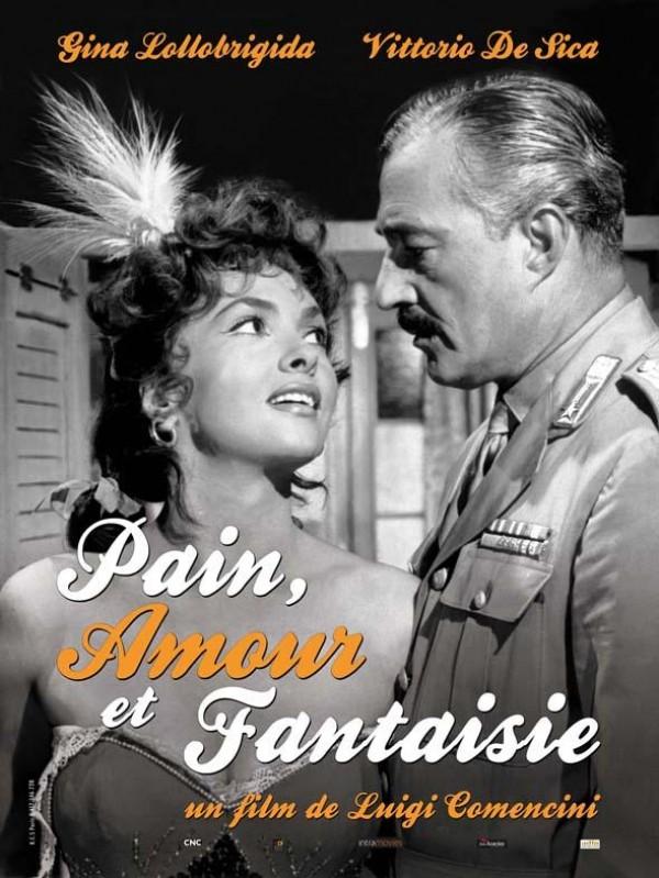 Pain, amour et fantaisie : Affiche
