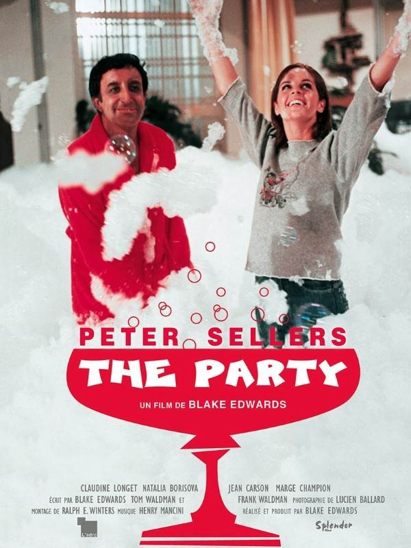 La Party, Affiche