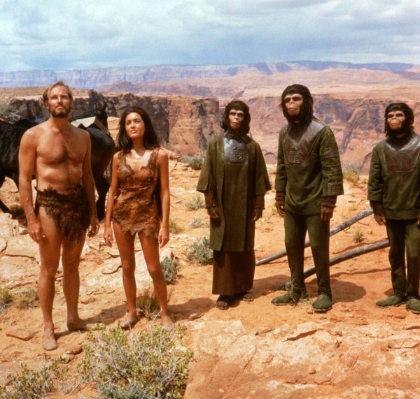 Charlton Heston, Linda Harrison et personnages