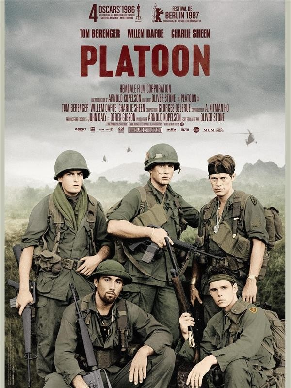 Platoon, Affiche version restaurée