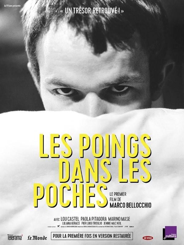 Les Poings dans les poches, Affiche version restaurée
