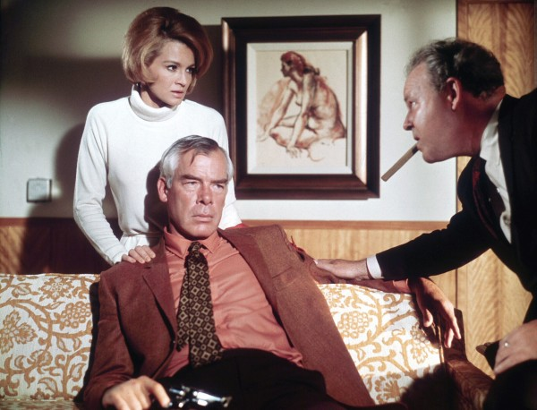 Angie Dickinson, Lee Marvin, Carroll O''Connor
