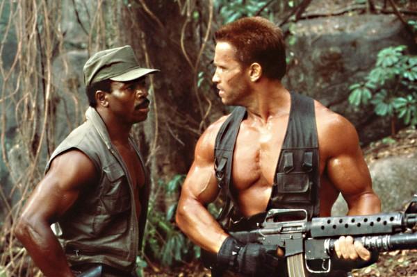 Carl Weathers, Arnold Schwarzenegger