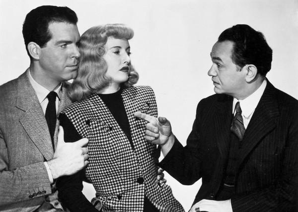 Fred MacMurray, Barbara Stanwyck, Edward G Robinson