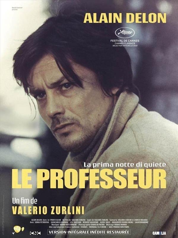 Le Professeur, affiche version restaurée