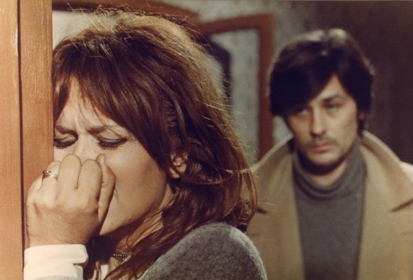 Lea Massari, Alain Delon