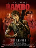 Rambo, affiche version restaurée