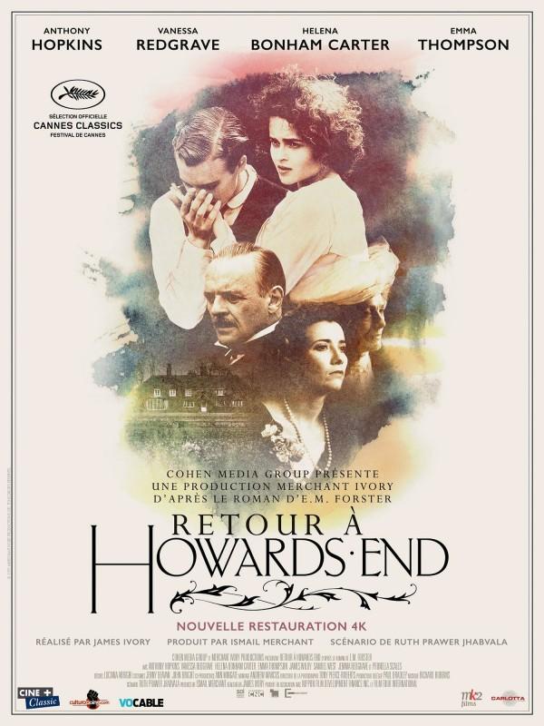 Retour à Howards End, affiche version restaurée