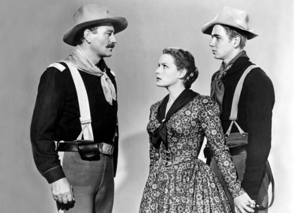 John Wayne, Maureen O'Hara, Claude Jarman Jr