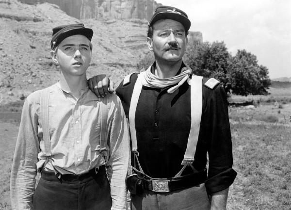 Claude Jarman Jr, John Wayne