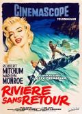 Rivière sans retour, Affiche version restaurée