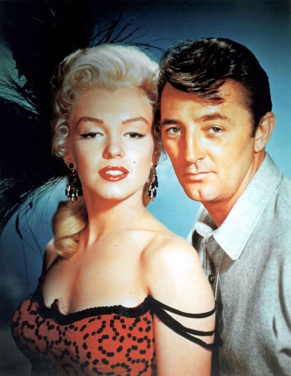 Marilyn Monroe, Robert Mitchum