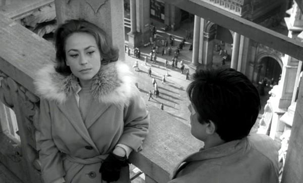 Annie Girardot, Alain Delon
