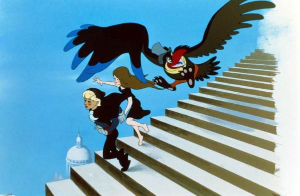 Le roi et l''oiseau, Illustration