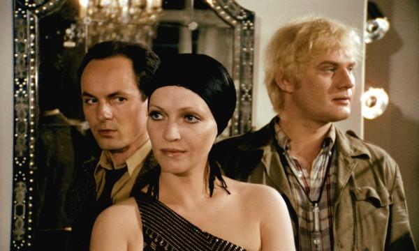 Ulli Lommel, Anna Karina, Volker Spengler (Gabriel)
