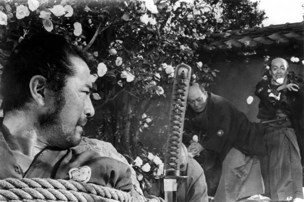 Toshirô Mifune (Sanjuro), Takashi Shimura (Kurofuji), personnage