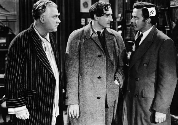 Holmes Herbert, Basil Rathbone, non identifié