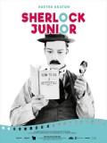 Sherlock Junior, affiche version restaurée