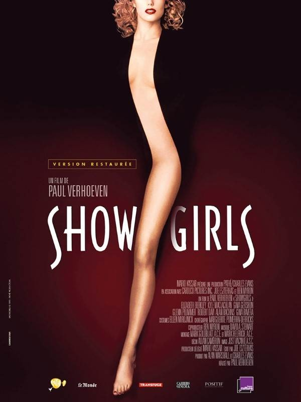 Showgirls, Affiche version restaurée