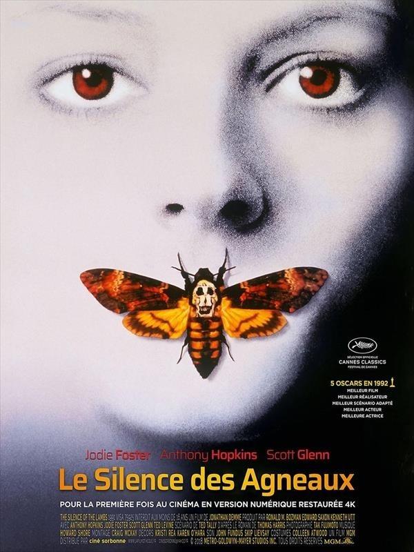 Le Silence des Agneaux, Affiche version restaurée