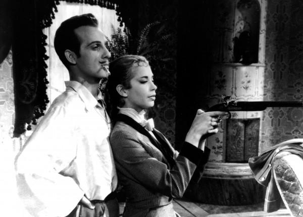 Jarl Kulle (Carl Magnus Malcolm), Margit Carlqvist (Charlotte Malcolm)