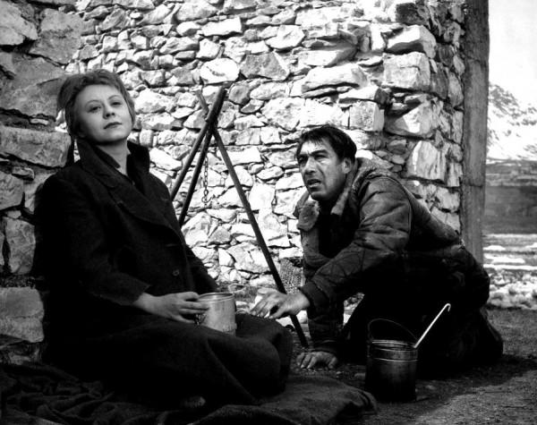 Giulietta Masina, Anthony Quinn