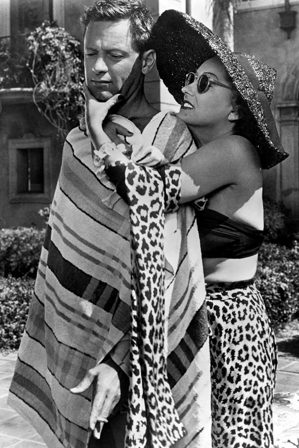 William Holden, Gloria Swanson