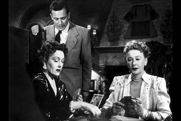 Gloria Swanson, William Holden, Hedda Hopper