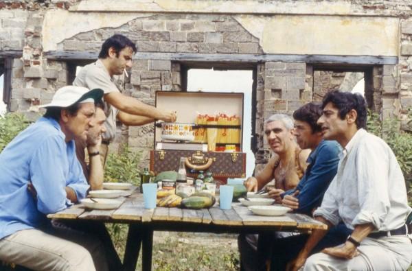 Lino Ventura, Aldo Maccione, Charles Denner, Jacques Brel