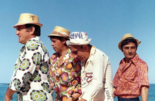 Lino Ventura, Jacques Brel, Charles Gérard, Charles Denner
